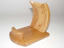 Handyhalter manuelle Bearbeitung  Eichenholz