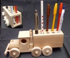 Stifthalter LKW Spielzeug - Firmengeschenke