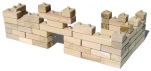 Holzbaukasten – Holzbauklötze
