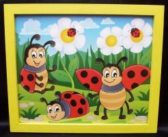 Bilder für's Kinderzimmer - Marienkafer