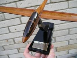 Gleiter DG500 Modell aus Holz