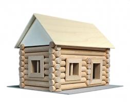 Baukasten Holz-Haus 17 Arten von Gebäuden
