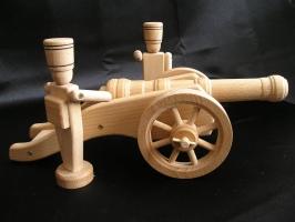 Großen Soldaten 13,5 cm und Kanonen leicht feld Kanone