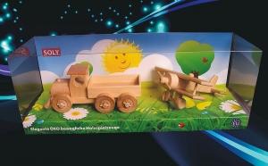 Klein LKW + klein Doppeldecker Spielzeug
