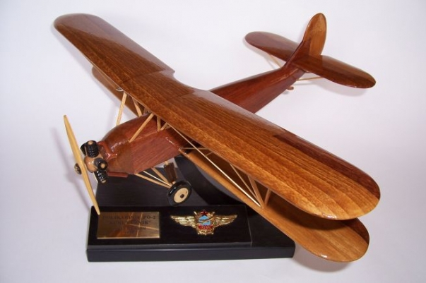 Flugmodell Polikarpow Po-2  sowjetischer Doppeldecker