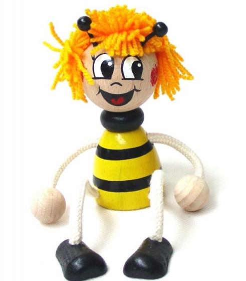Biene Maja Spielzeug auf der Feder