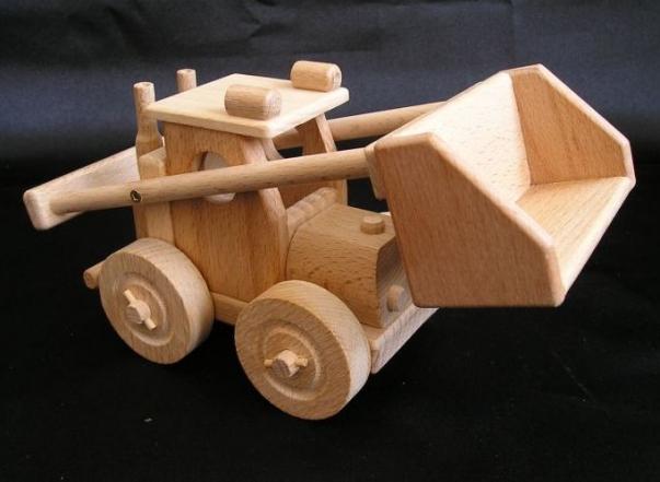 Radlader Bobik, Baumaschinen spielzeug