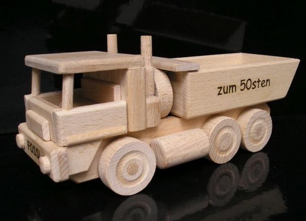 Holz LKW-Kipper II.Spielzeug Geschenke