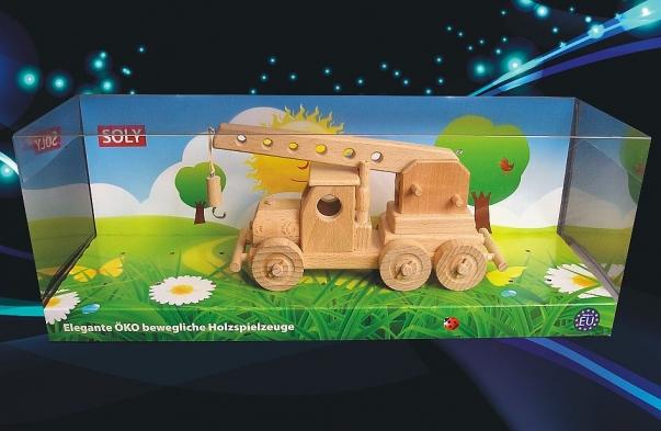 Holzkranwagen