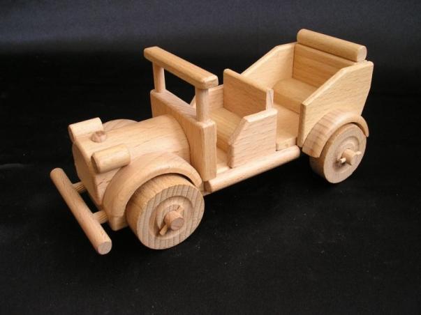 Auto Veteran - Spielzeug aus Holz