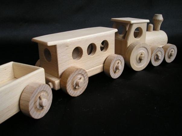 Holz züge spielzeug holzspielzeug für kinder lkw