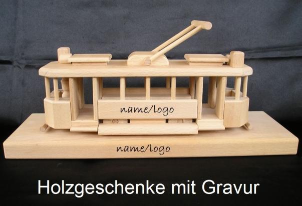 Der Historischen Straßenbahn Geschenke