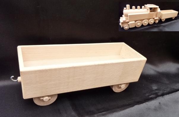 Vagon für Dampf Lokomotive