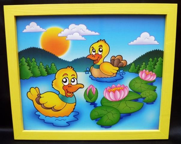 Bilder für's Kinderzimmer - Ente