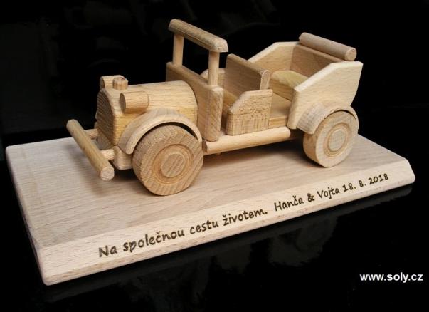 Veteranen Auto Holz Geschenke