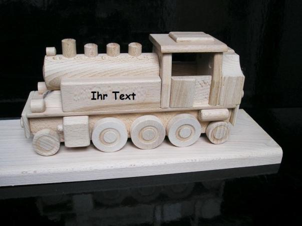 DR Dampflokomotive Holz Geschenke mit Gravur
