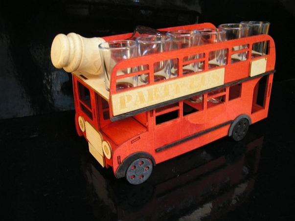 Geschenk für Busfahrer, Flaschen zum Geburtstag