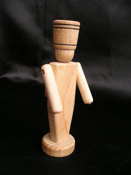 Holzspielzeug Soldaten, 13,5 cm