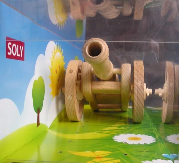 Feld Kanone - leicht, 180 x 110 x 100 mm