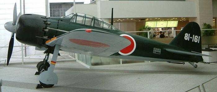 flugzeuge-modell-Mitsubishi Zero-Yasukuni