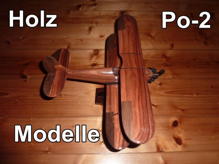 Flugzeuge Polikarpov Po2