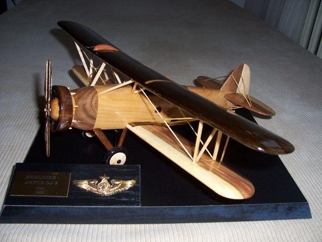 USA-flugzeug-modell-Berliner-Joyce-OJ-2