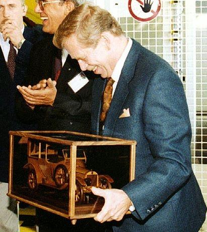 Geschenk für Präsident Vaclav Havel