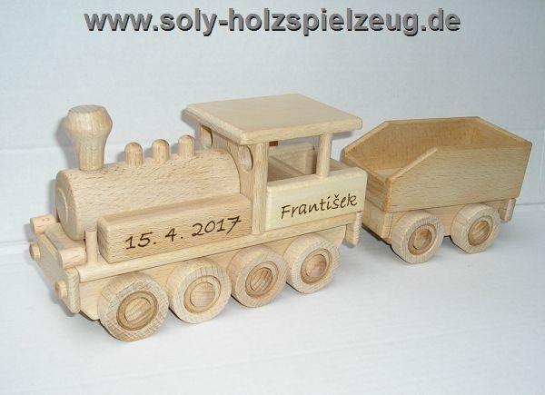 Dampf Lok Holz-spielzeug