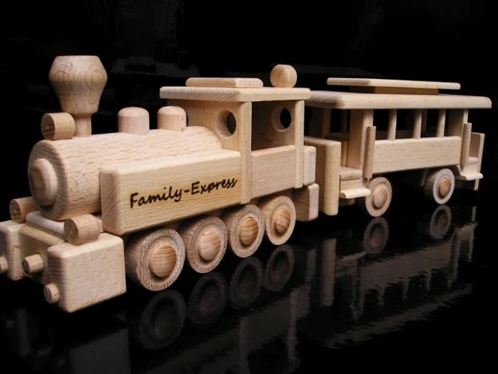 Zug Holz Spielzeug