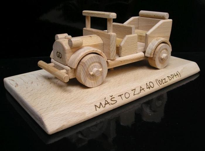 Auto Wagen Veteran Geschenk
