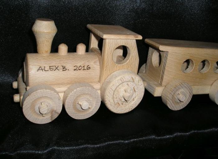 Holz-Zug, Eisenbahn Spielzeugen