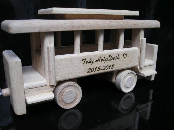 Wagen für Holzzüge