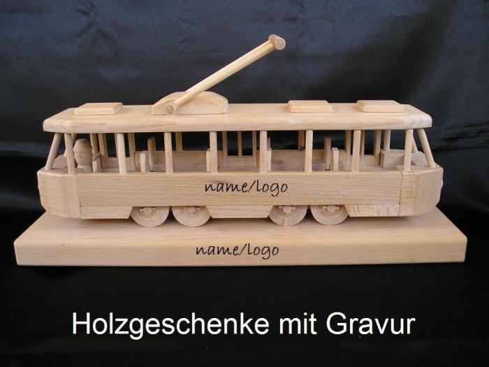 Strassenbahn personalisierte Geschenke Mit Gravur