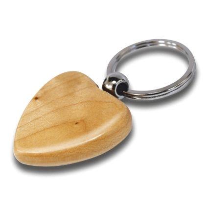 Schlüsselanhängern aus Holz - Herz