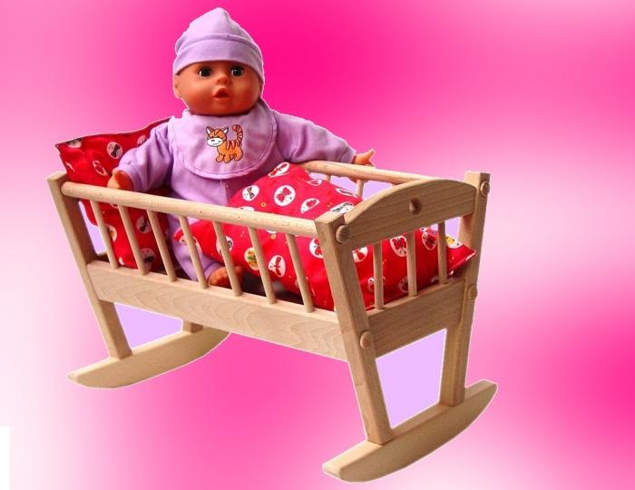 Puppenwiege Spielzeuge