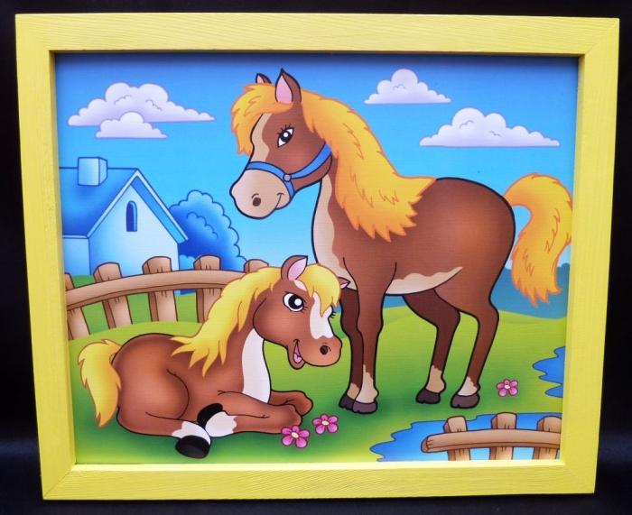 bilder f r 39 s kinderzimmer pferd holzspielzeug f r. Black Bedroom Furniture Sets. Home Design Ideas