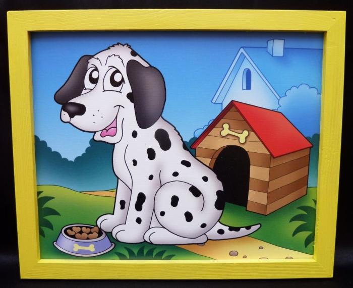 Hund dekoration bilder-fur-kinderzimmer