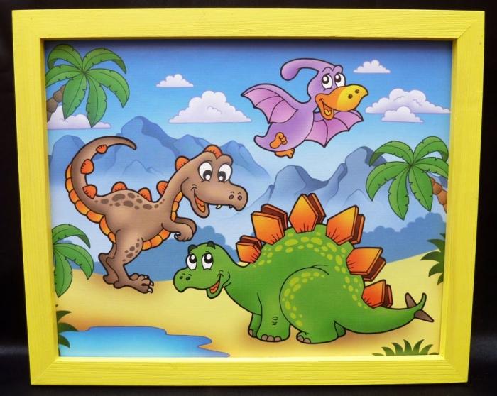 Dinosauriern und Prähistorischen Tiere
