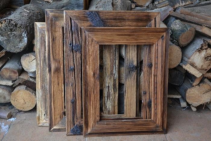 Manuelle Herstellung von Holzrahmen