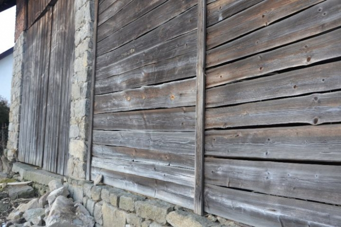 Rahmen aus Holz, weiß
