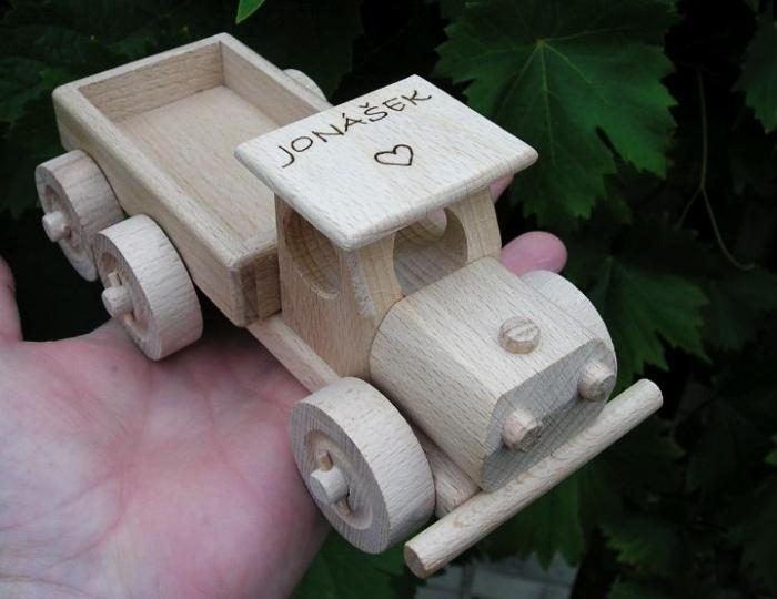 LKW klein Holzspielzeug