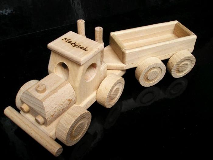 LKW Spielzeug mit trailer truck