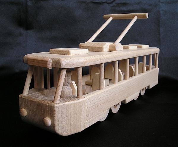 moderne stra enbahn kindertram spielzeug holzspielzeug f r kinder lkw flugzeuge stra enbahn bus. Black Bedroom Furniture Sets. Home Design Ideas