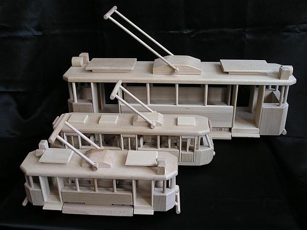 Straßenbahnen Spielzeug