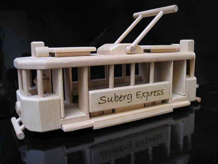 Tramway Strassenbahn Spielzeug