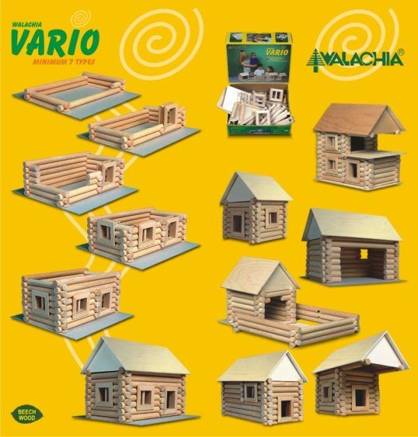 Holz-Baukasten Haus