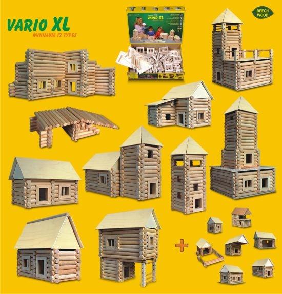 Holz-Baukasten VARIO fur Kinder