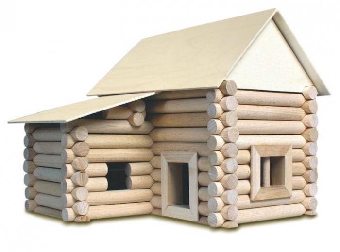 Kinder Holz-Baukasten VARIO