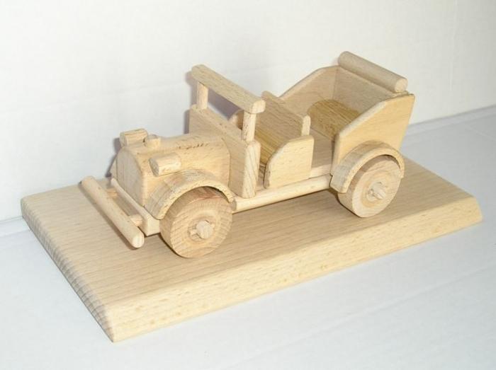 Veteran Auto Holz Geschenke Spielzeug