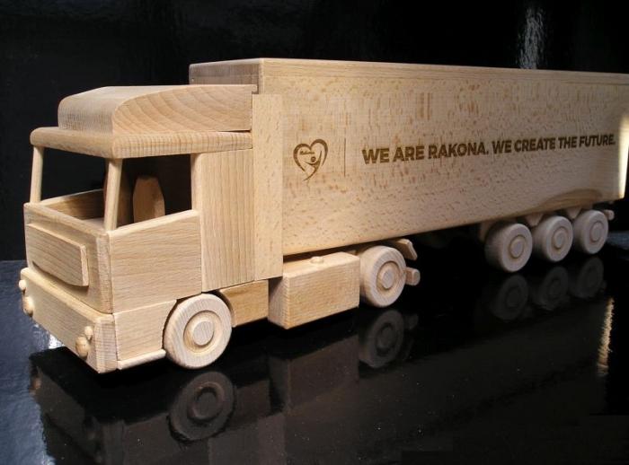 Geschenk für den Fahrer und Kinder